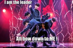 Haha Leader N, Voodoo Doll. Love this song and choreography.