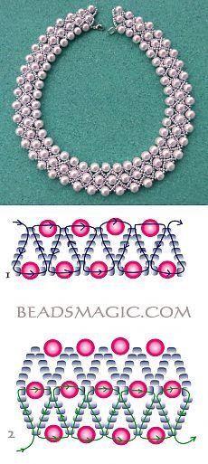 Pearl Lights Ideas Farbideen Schmuck s. - Pearl Lights Ideas Farbideen Schmuck selber machen The - Seed Bead Jewelry, Bead Jewellery, Bead Earrings, Seed Beads, Beading Tutorials, Beading Patterns, Beading Ideas, Loom Patterns, Jewelry Crafts