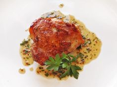 Sous-vide techniques yield chicken with unparalleled levels of juiciness. Finish your chicken on the stovetop to crisp it up.