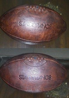 Vintage 159120: Stade France Genuine Leather Football/Rugby Ball , Size 5 BUY IT NOW ONLY: $50.0
