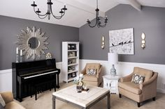 Sherwin Williams Cityscape - Could work well with my light pine floors
