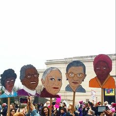 """888 Likes, 3 Comments - BYT (@brightestyoungthings) on Instagram: """"A great day to revisit this magical #womensmarch moment from the #BYThings feed by…"""""""