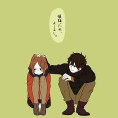 Manga Couple anime, love, and boy image - Anime Love, Manga Love, Relationship Fights, Otaku, Couple Illustration, Manga Couple, Handsome Anime, Cute Anime Couples, Cute Drawings