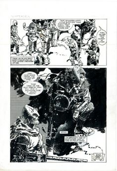 Winter Sea Part 1 Page 31 by Jorge Zaffino, in GenevieveHalton's Sold or Traded Art (May Contain Nudity) Comic Art Gallery Room