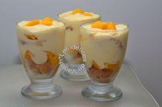 Tiramisu mangue, noix de coco