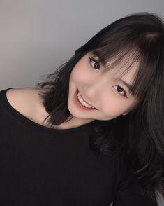Cute Korean Girl, Asian Girl, Cute Girl Face, Ulzzang Girl, Cute Girls, Like4like, Idol, Hair, Beautiful