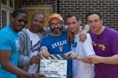 Boys in the cast