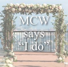 9 Best Mcw Says I Do Images In 2020 Field Of Dreams Wedding