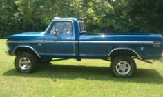 Classic Ford Trucks | 1976 Ford F250 Highboy Classic Truck in Mount Jackson, VA for Sale in ...