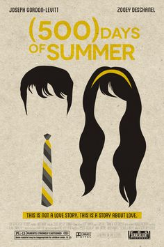 500 Days of Summer : Very fun, calm and  interesting Rom-Com.....good one..... and yes it's not a love story...! shuuush