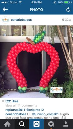 How to decorate with balloons Balloon Arrangements, Balloon Centerpieces, Balloon Decorations, Birthday Party Decorations, Birthday Parties, Snow White Birthday, Baby Shower Balloons, Balloon Arch, Holidays And Events