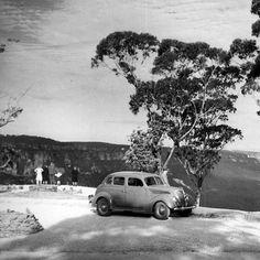 Honeymoon Point, Katoomba, NSW v@e