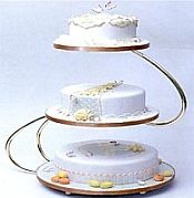 Love This Cakestand Tiered Wedding Cake Stands Holders Plates