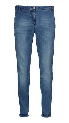 Blå stretch jeans fra Gustav | Shop Serafine.dk
