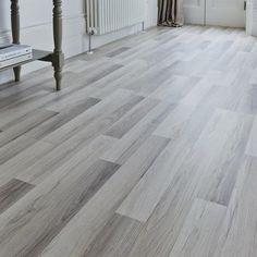 Professional Light Grey Oak laminate flooring | Howdens professional flooring | Flooring collection | Howdens Joinery