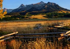 The Last Dollar Ranch | Colorado #fence #mountains √