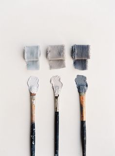 A grey color palette with slight blue hints brings about a relaxed feel suited for any room Colour Schemes, Color Combos, Color Patterns, Blue Photography, Home Decoracion, Gray Aesthetic, Colour Board, Color Stories, Color Pallets