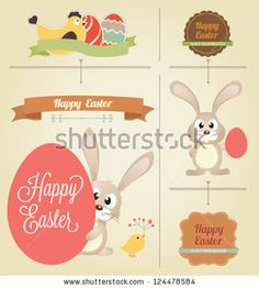 Easter eggs in nest on rustic wooden planks #Easter Inspiration from Shutterstock http://www.webdesign.org/easter-inspiration-from-shutterstock.22414.html