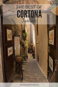Cortona was full of surprises. We loved this beautiful town in Tuscany.