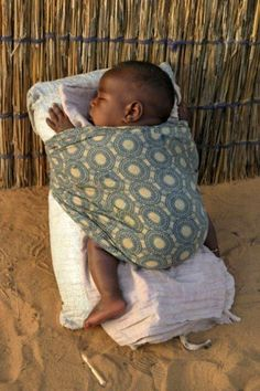 Sleeping peacefully under the African sky | Photographer unknown