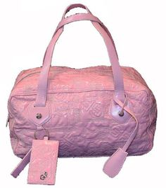 Ferre Womens H Purse Bag Pink, One Size, « Clothing Impulse