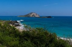 Friday Fotos — Mānana has no people but does have birds. What a cool view off the coast of O'ahu http://terryambrose.com/2017/08/manana-island/