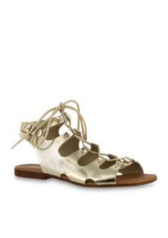 Bella-Vita Gold Oriana Sandals