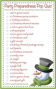 this site has lots of free printable party games and activities for Christmas