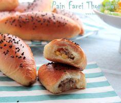 Petits pains delicieux au thon