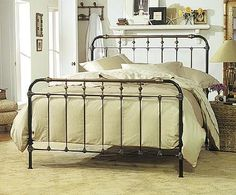 "What I am hoping my ""new"" old bed will look like"