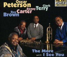 """Recorded on January 15, 16, 1995, """"The More I See You"""" is an album (the first since his stroke) by Oscar Peterson. TODAY in LA COLLECTION on RVJ >> http://go.rvj.pm/9q1"""