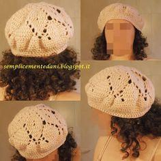 9 Fantastiche Immagini Su Cappello Chiara Hat Crochet Crochet