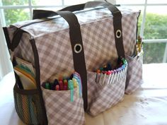 This could be a great way to organize for a traveling teacher!