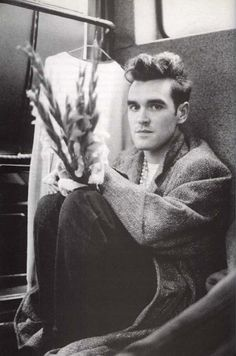 """everyday is silent and grey."" - morrissey"