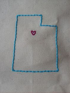 States Embroidery    www.the-red-kitchen.com