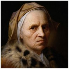 Balthasar Denner's portrait of an old woman also known as The Alte Frau Painting is highly regarded as one his greatest works. Denner painted mostly half-length and head-and-shoulders portraits and a few group portraits of families in interiors. Kunsthistorisches Museum Wien, Renaissance Paintings, Portraits, Portrait Paintings, European Paintings, Great Paintings, Old Master, Old Women, Alter