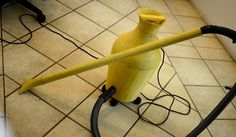great idea, a vacuum cleaner designed to look like a flower pot!