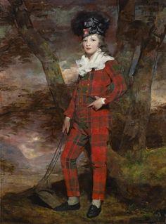 Sir Henry Raeburn, R. Scottish Tartans, Scottish Kilts, Scottish Highlands, Pose, Scottish Fashion, Best Portraits, John The Baptist, English Style, Historical Costume