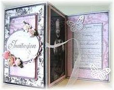 Bilderesultat for konfirmasjon innbydelse Wedding Invitations, Frame, Cards, Scrapbooking, Home Decor, Picture Frame, Wedding Invitation Cards, A Frame, Scrapbooks