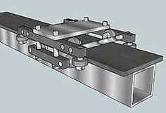 All metal Z-axis design useing skate bearings and cold rolled steel-roller-assembly-jpg