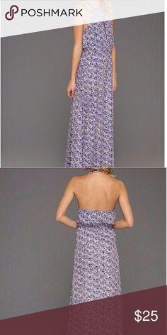 Halter maxi dress Beautiful Jessica Simpson maxi.... Jessica Simpson Dresses Maxi