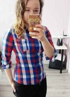 Kup mój przedmiot na #vintedpl http://www.vinted.pl/damska-odziez/bluzki-z-dlugimi-rekawami/16827350-bluzeczka-z-dlugim-rekawem-w-kratke-teranova