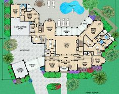 "Ground floor of ""The Dominion"""