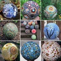 Beautiful mosaic balls found on Face Book- https://fbcdn-sphotos-e-a.akamaihd.net/hphotos-ak-ash4/389173_570804156276291_100508309_n.jpg