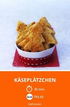 Käseplätzchen - smarter - Kalorien: 793.43 kcal - Zeit: 35 Min. | eatsmarter.de