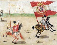 Дальше ехал великий коронный хорунжий Себастьян Собеский (спустя 24 года у его племянника родится сын, и назовут его Яном):
