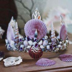 If not a flower crown, a mermaid crown. @wildandfreejewelry
