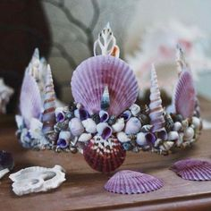 If not a flower crown, a mermaid crown. @wildandfreejewelry