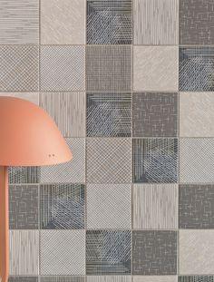 Porcelain stoneware wall/floor tiles TRATTI EPI by MUTINA design Inga Sempé