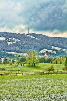 Gubalowka Zakopane Poland Tatras Mountains
